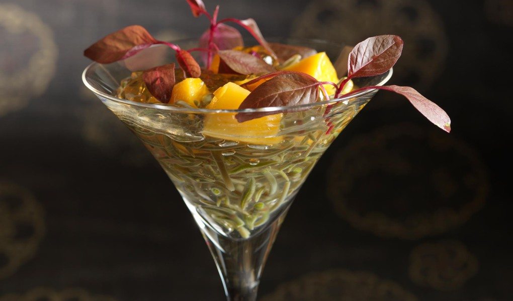 Mango-with-Water-Lily-Vinegar-Jelly2